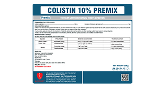 COLISTIN 10% PREMIX