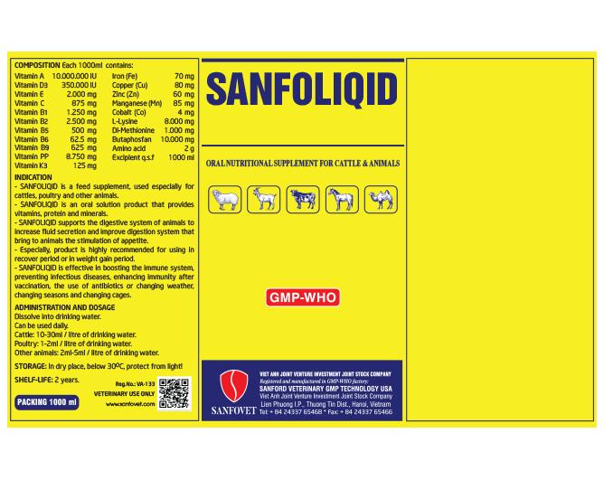 SANFOLIQID (MIDDLE EAST)