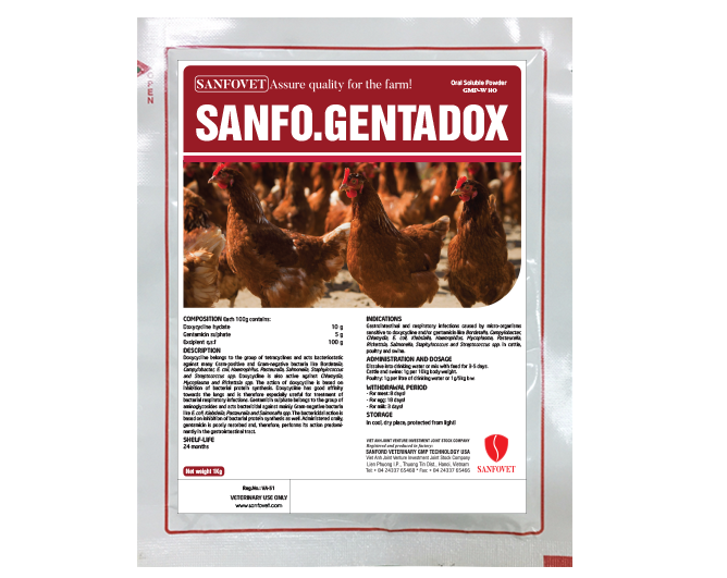 SANFO GENTADOX