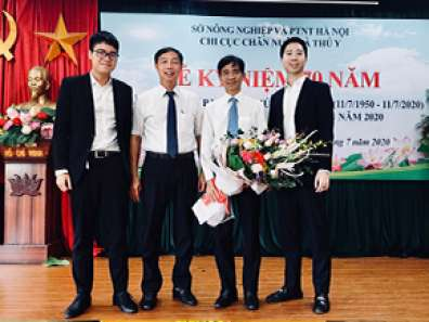 Sanfovet to congratulate 70th anniversary of Vietnam Veterinary industry